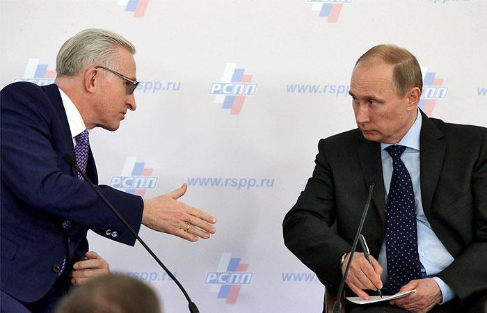 РСПП попросит Путина освободить Евтушенкова