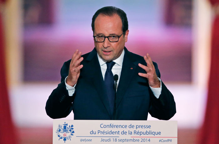 "Олланд заявил о готовности к авиаударам по боевикам ""Исламского государства"""