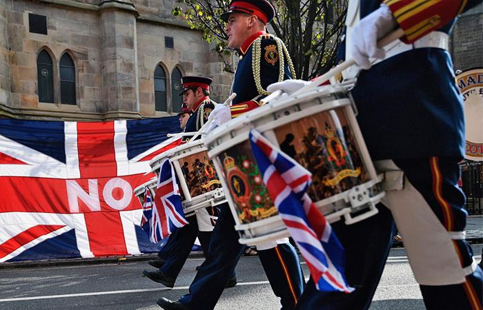 Шотландия решила остаться в составе Великобритании