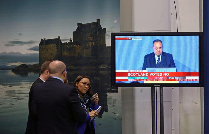 Первый министр Шотландии объявил об отставке после неудачи на референдуме