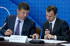 Дворкович и Козак заявили об отсутствии планов по ответным санкциям