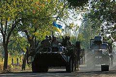 Снаряд попал в цех со взрывчаткой завода химических изделий в Донецке