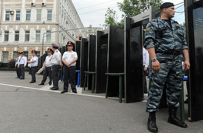 Антивоенный марш в Москве начался при усиленных мерах безопасности