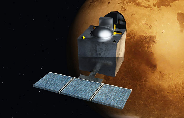 Индия с первой попытки вывела спутник на орбиту Марса