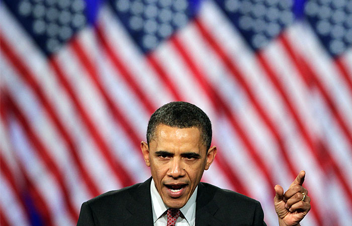 Обама назвал условия снятия санкций в отношении России
