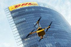 DHL с пятницы начнет доставлять отправления беспилотниками