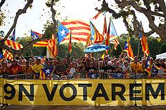 В Каталонии официально назначили дату референдума о независимости
