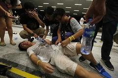 В Гонконге произошли столкновения протестующих с полицией