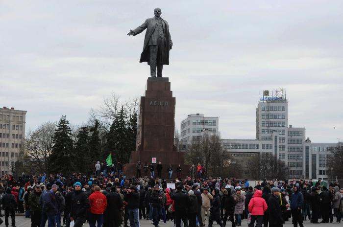 Уголовное дело о сносе памятника Ленину в Харькове закрыто