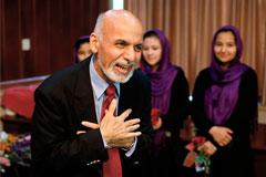 Новый президент Афганистана официально вступил в должность