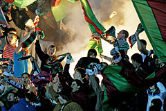 "Более 500 фанатов ""Рубина"" задержали в Казани после беспорядков на матче с ""Торпедо"""