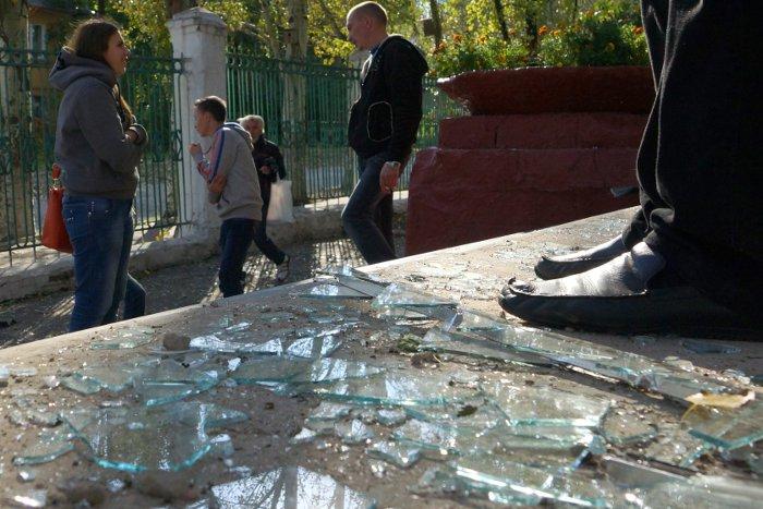 При обстреле Донецка погиб иностранный сотрудник Красного Креста