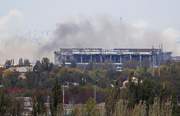 В ДНР опровергли информацию о взятии аэропорта Донецка