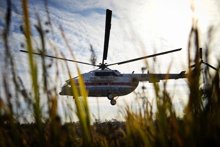 В Туве возобновились поиски пропавшего вертолета