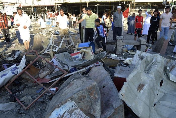 В результате серии взрывов в Багдаде погибли более 50 человек