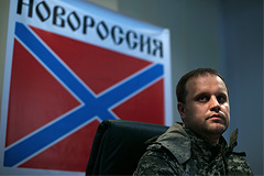 """Автомобиль бывшего """"народного губернатора"""" Донецкой области попал под обстрел"""
