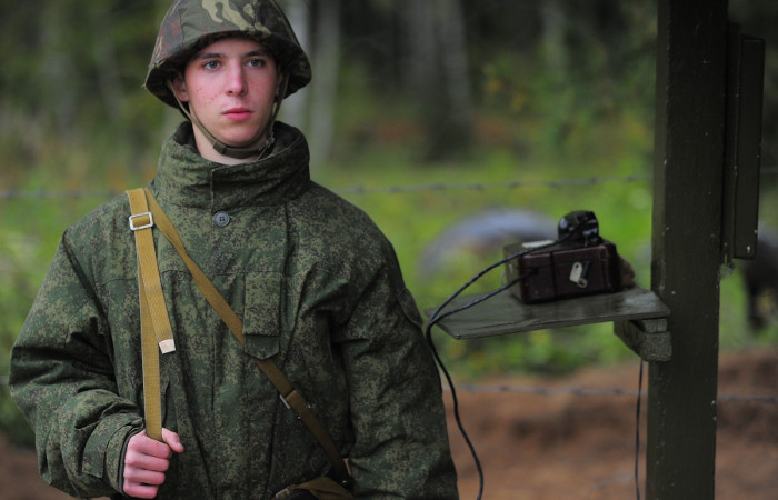 Военнослужащий ракетных войск.