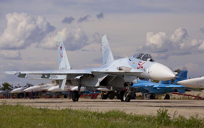 Авиабаза ВВС России появится в Белоруссии в 2016 году
