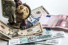 Бивалютная корзина впервые подорожала до 46 рублей