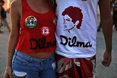 Дилму Руссеф снова избрали президентом Бразилии