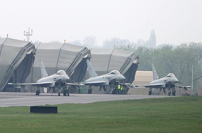 Британские истребители были подняты на перехват российских Ту-95