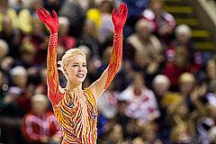 Российская фигуристка Анна Погорилая выиграла Skate Canada