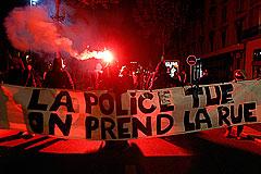 """Гибель активиста """"зеленых"""" спровоцировала массовые беспорядки во Франции"""