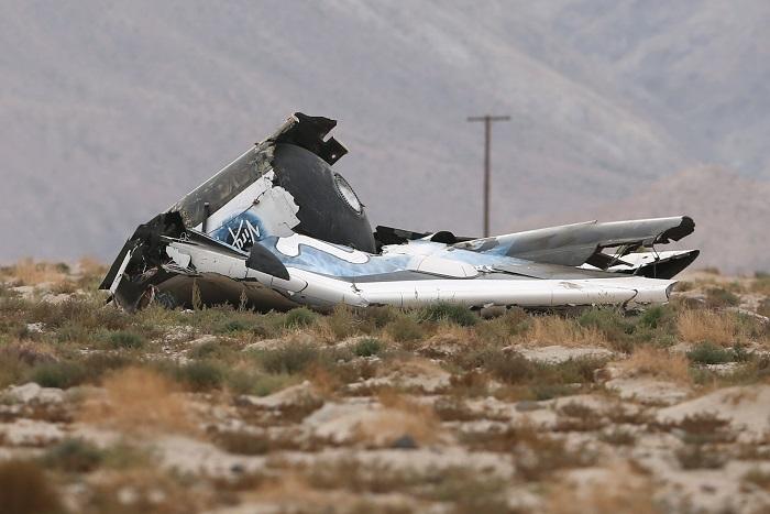 Власти Калифорнии обнародовали имена пилотов разбившегося SpaceShipTwo