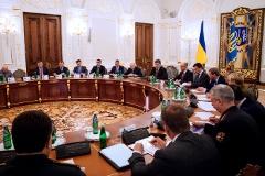 СНБО рассмотрит отмену особого статуса Донбасса