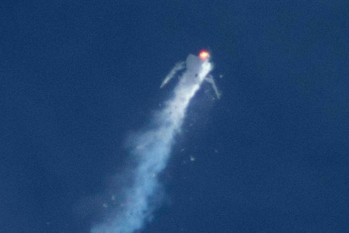 Специалисты назвали возможную причину крушения SpaceShipTwo