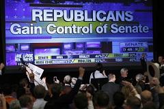 Республиканцы завоевали большинство в обеих палатах Конгресса США