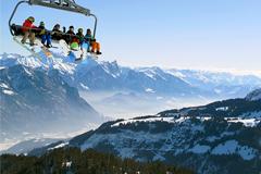Слабый рубль помешал каникулам россиян в Швейцарии