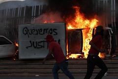 Протестующие атаковали правительственные здания в мексиканском штате Герреро