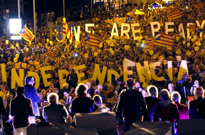 Более 80% каталонцев высказались за независимость