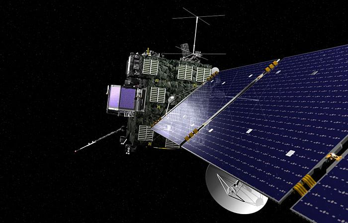 Космический аппарат впервые в истории сел на ядро кометы