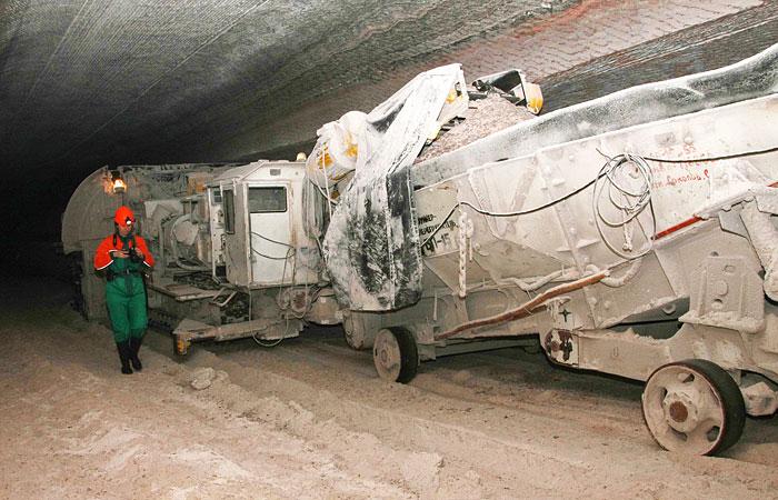 """Приток рассола в руднике """"Уралкалия"""" снизился в шесть раз"""