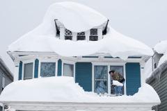 10 человек погибли из-за снежной бури на востоке США