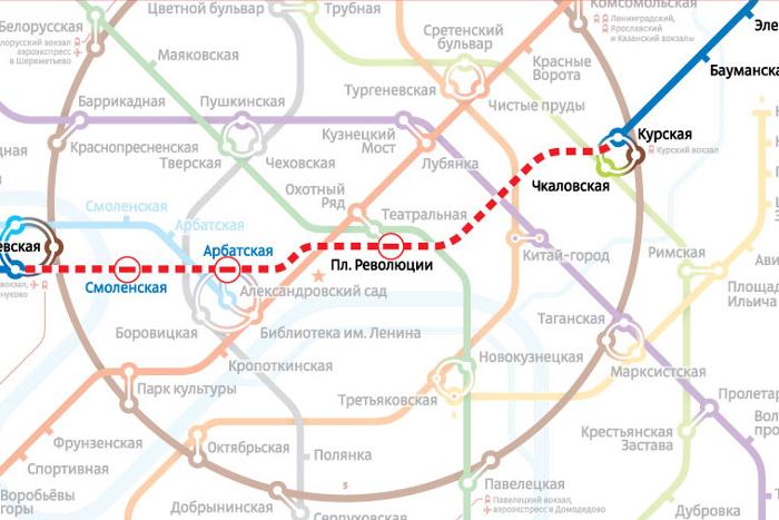 """""""синей"""" ветки метро закрыт"""