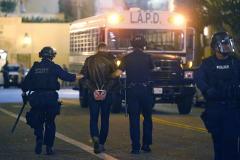 В Лос-Анджелесе арестованных демонстрантов отпустили в честь Дня благодарения