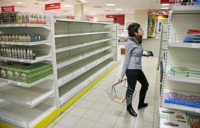 Ухудшение экономической ситуации заметили 80% россиян
