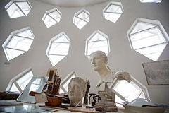 Дом-мастерская архитектора Мельникова открылся для посетителей