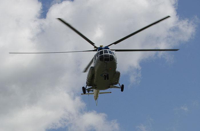 Вертолет Ми-8 разбился под Нарьян-Маром