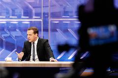 Разговор с Медведевым: основные темы
