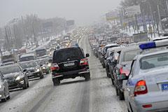 Центр организации движения назвал причины транспортного коллапса в Москве