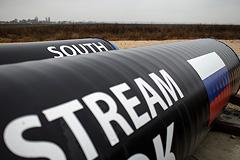 """""""Газпром"""" выкупит 50% акций у партнеров морской части """"Южного потока"""""""