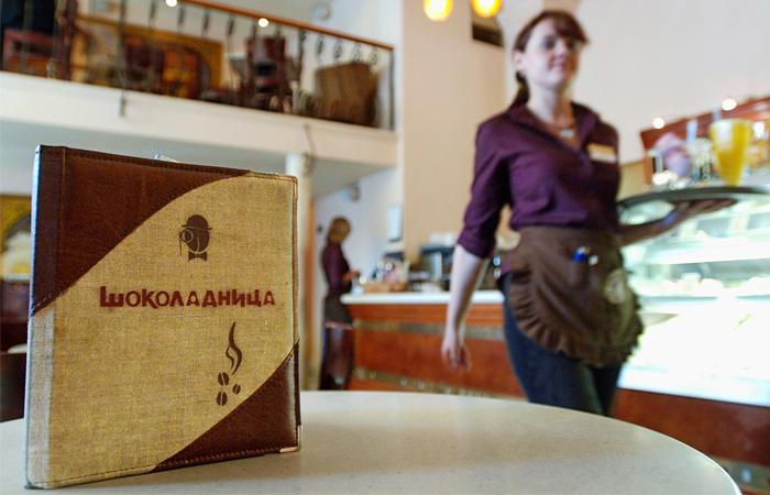 Работа в кафе шоколадница вакансии