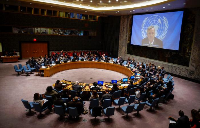 США заблокировали в СБ ООН резолюцию по Палестине