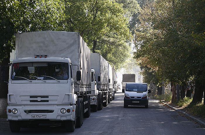Гуманитарную помощь из России в Луганске начнут распределять с понедельника