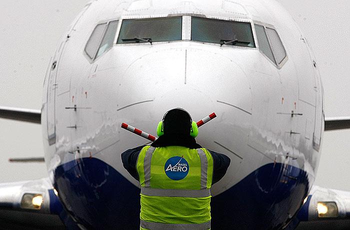 Пассажирский самолет вынужденно сел в Астрахани из-за авиадебошира