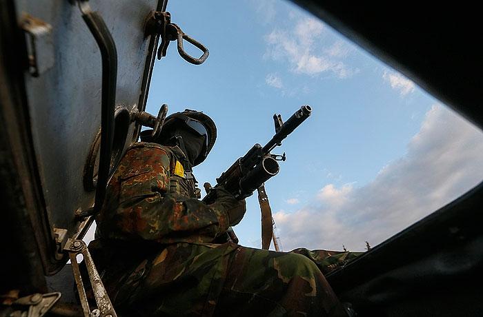 Украинские военные начали выстраивать новую линию обороны на востоке